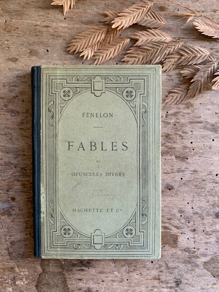 French Vintage Fables Book