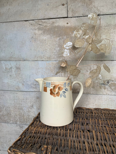 Vintage French Transferware Jug