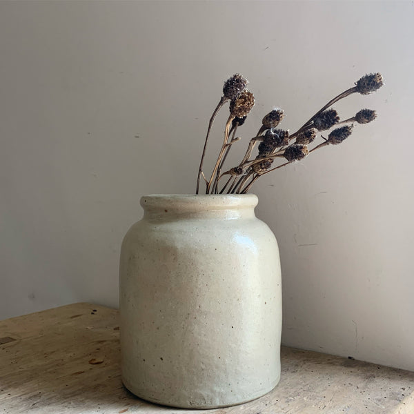 Large French Stoneware Jar