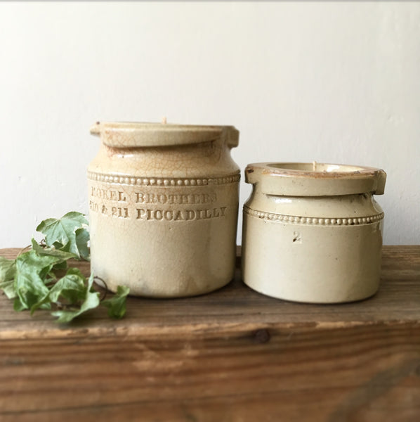 Vintage Mustard Jar Candles Earl Grey & Cucumber