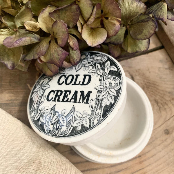 Victorian Cold Cream Pot