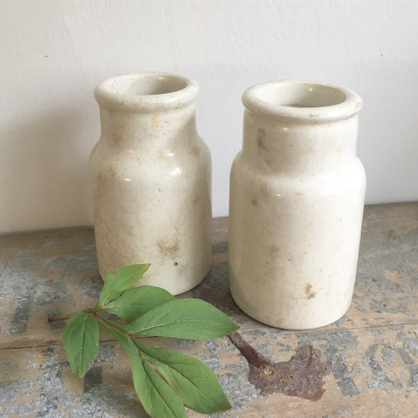 Vintage Rustic Mini Churns