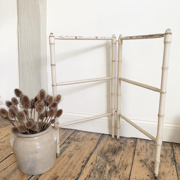 Vintage French Chippy Clothes Dryer