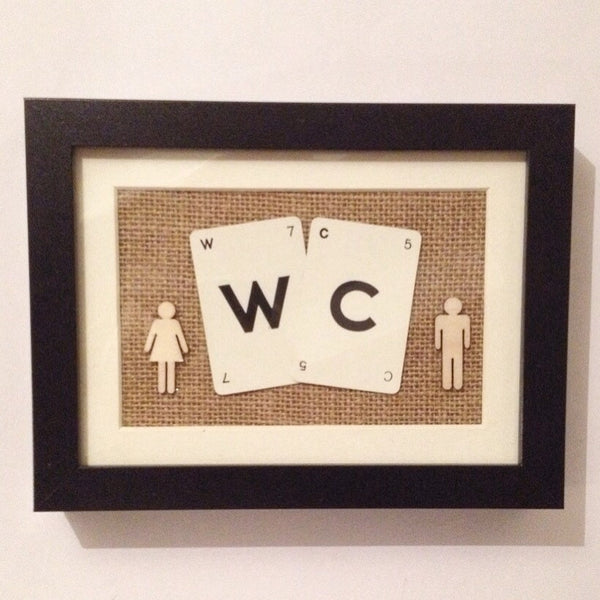 WC Vintage Playing Cards Wall Art by Ivy Joan