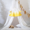 Who doesn't like basking in that spot of sun? Reminiscent of that comfort feeling is this dip dyed swing top. Team it with a pair of shorts or a skirt or style it on a sleeveless dress. Made with sustainably grown cotton fabric. Natural shell buttons at the back. Perfect for vintage weddings