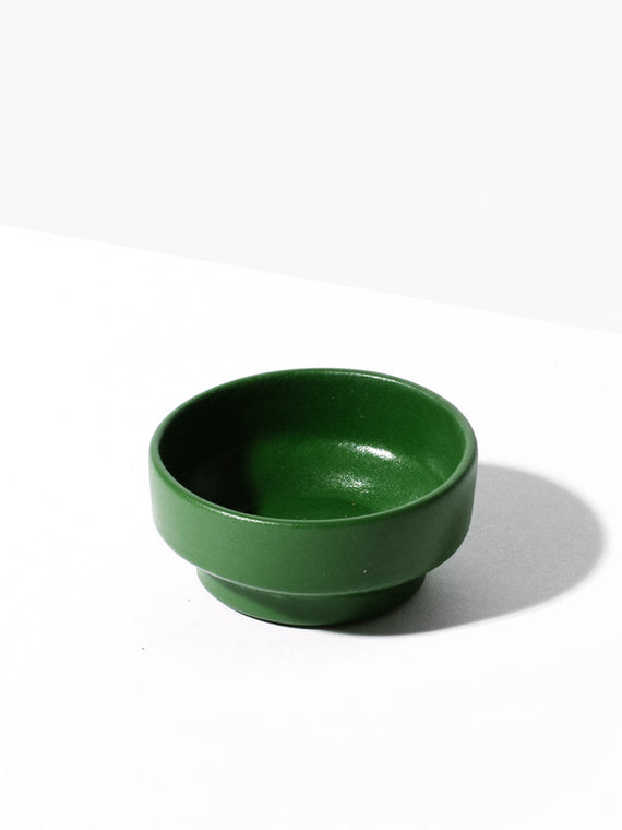 Green Salt Bowl Photo