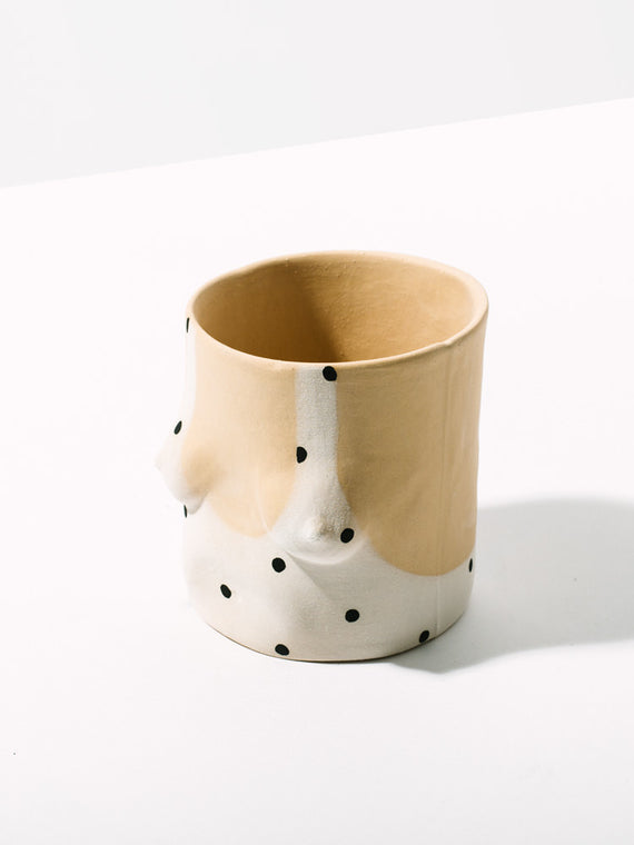 Black Polka Dot Pot Photo