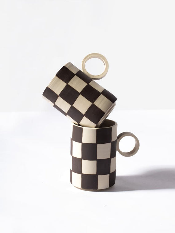Checkered Totem Mug Photo