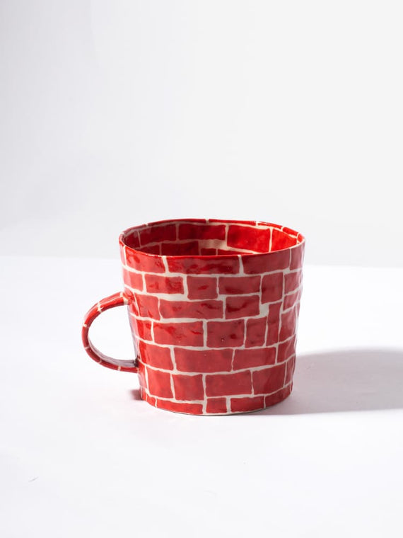 Red Brick Mug Photo