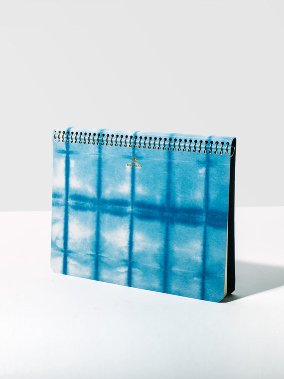 A5 Blue Dye Kelp Notebook Photo