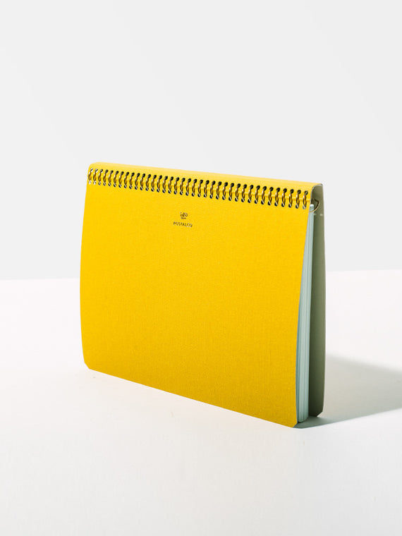 A5 Yellow Notebook Photo