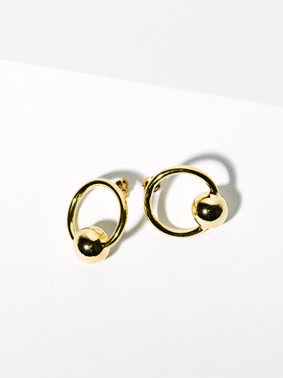 Orb Earrings Photo