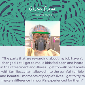 Mana Threads Essential Worker Appreciation: Alisa Case
