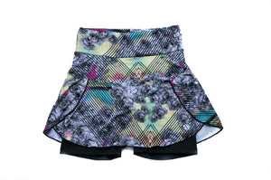 Graffiti Bloom Skort