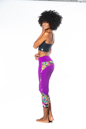 Gotcha Legging - Tropical Abstract