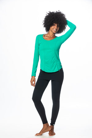 Breezy Top - Green Clover