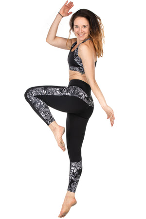 Agua Leggings | midnight blossom