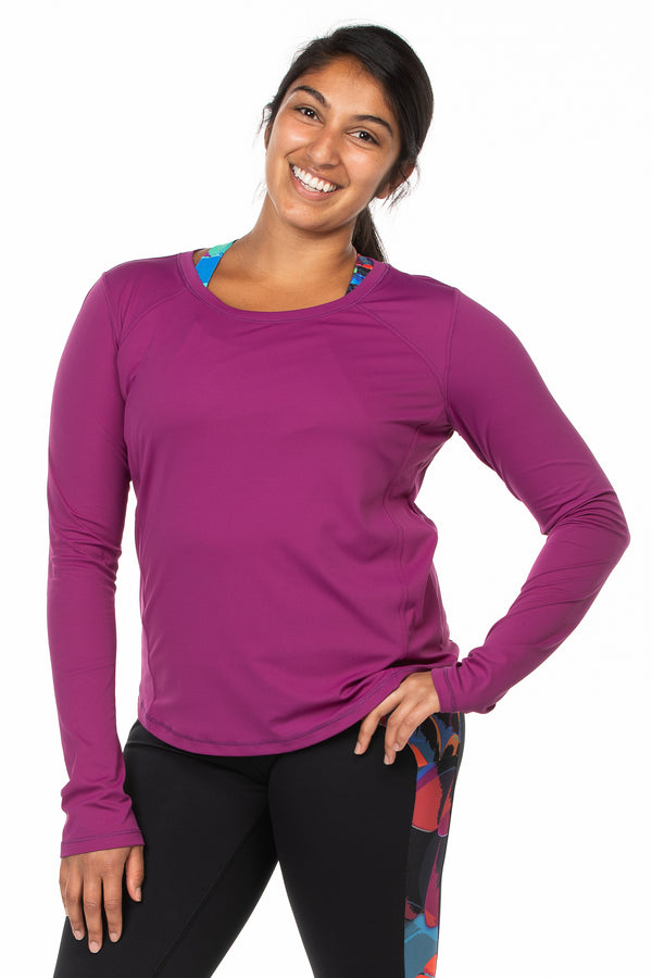 Brisa Top | mystic purple