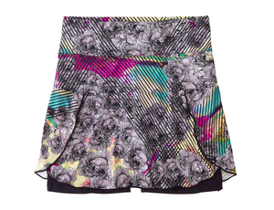 Terra Skort | Graffiti Bloom