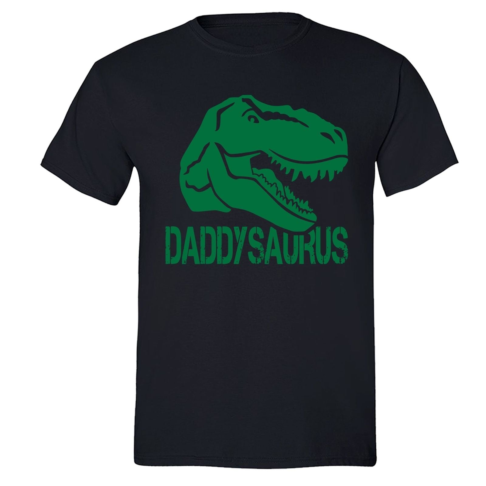 9b39a62cbd5c88 XtraFly Apparel Men s Daddysaurus T-Rex Dinosaur Father s Day Crewneck  Short Sleeve T-shirt