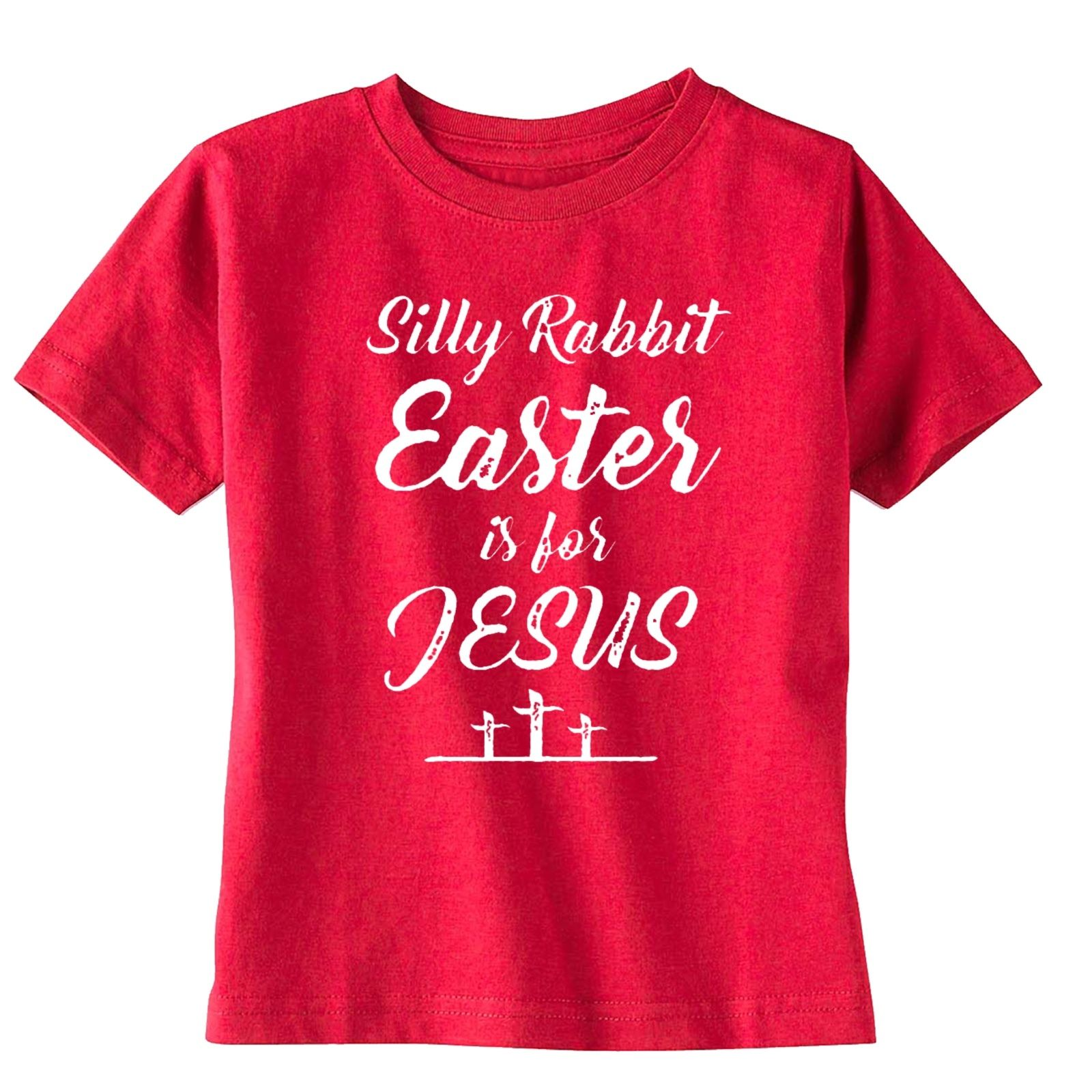 Silly Rabbit Easter is for Jesus Boys Short-Sleeve Tee