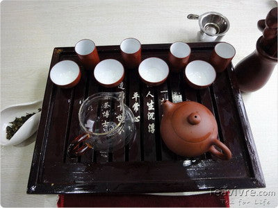 Brewing Tie Guan Yin in Western and Gongfu Style