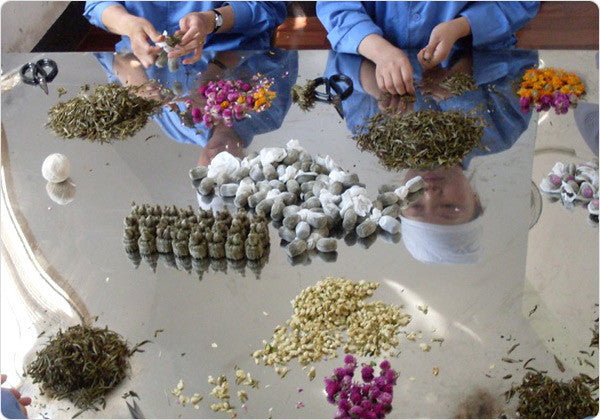 Craft of Making Flowering Tea (Blooming Tea)