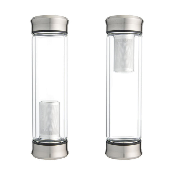 Glass Travel Tea Infuser for Loose Tea