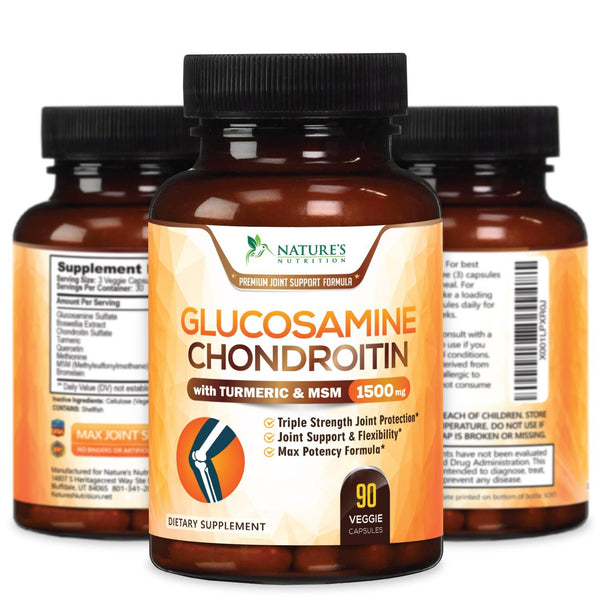 Glucosmaine Chondroitin MSM with Turmeric