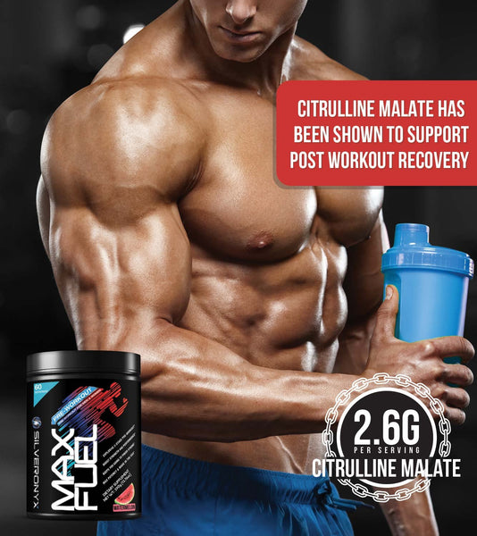 MaxFuel Two-Stage Pre-Workout Supplement