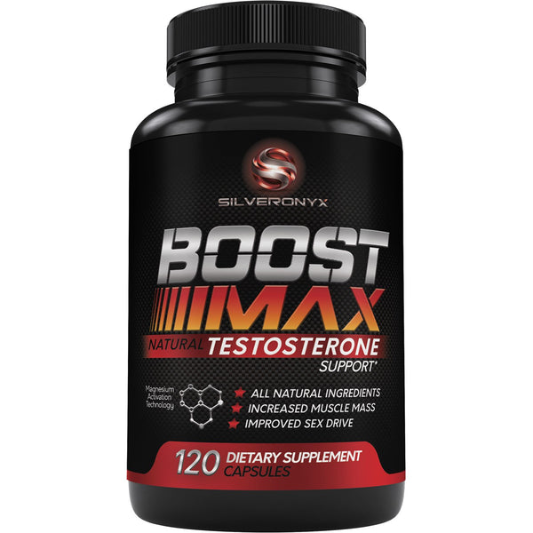 BOOST MAX Testosterone Support for Men