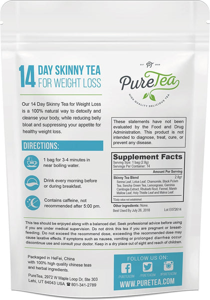 Skinny Tea Blend for Weight Loss