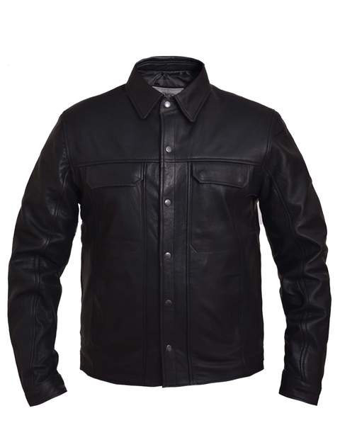 Premium Leather Shirt
