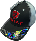 Ariat Red Logo Trucker Cap