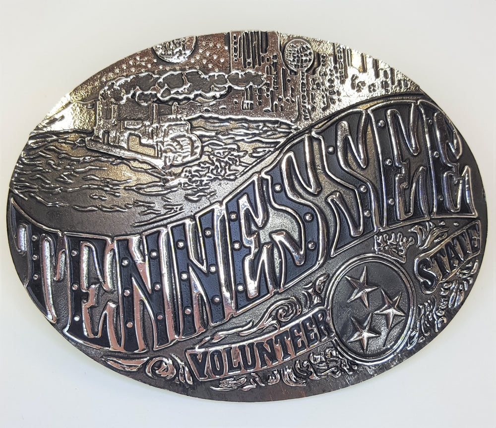 AndWest Tennessee Volunteer State Buckle