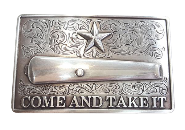 "Nocona ""Come and Take It"" Buckle"