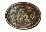 Eagle and Stars Buckle by AndWest