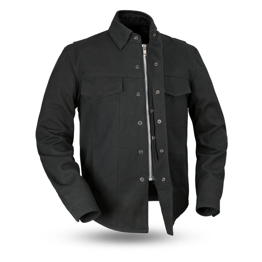 First Manufacturing Equalizer Canvas Motorcycle shirt