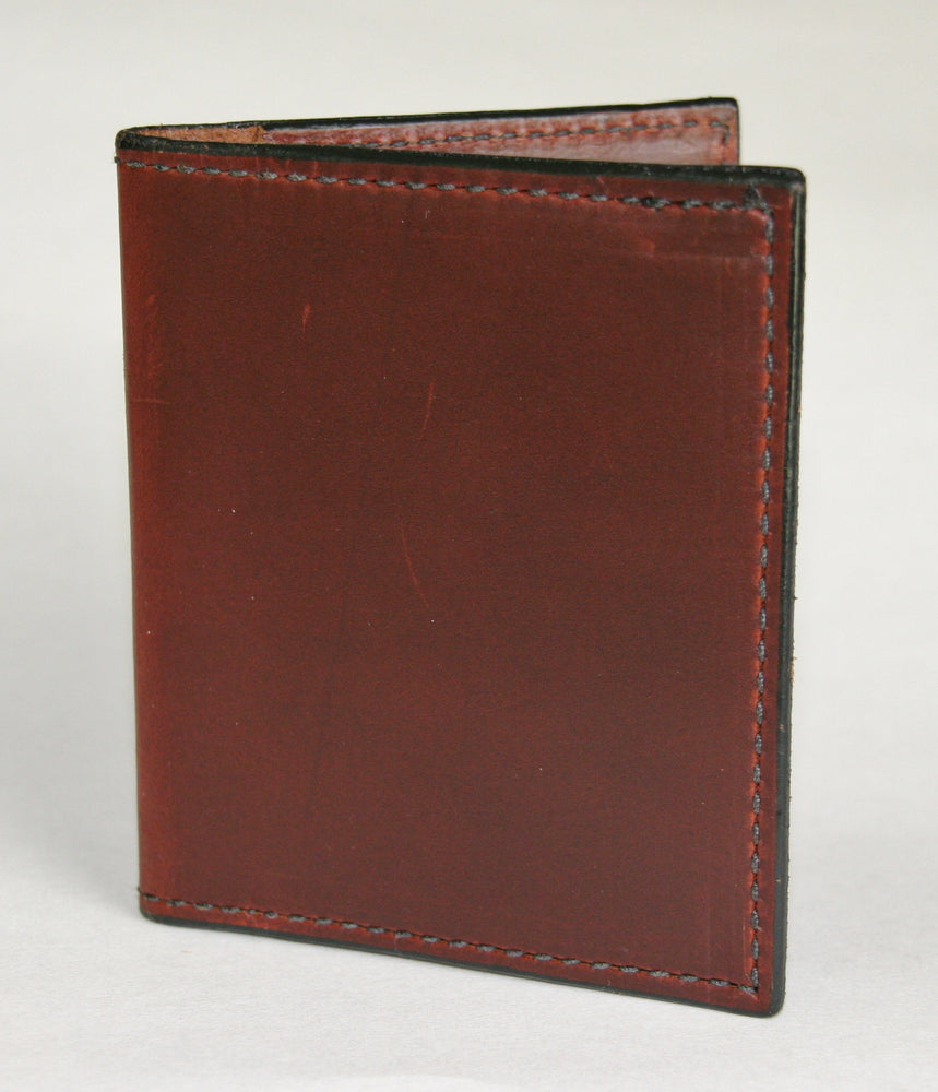 Folding card wallet folded