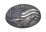 Nocona God Bless America Buckle