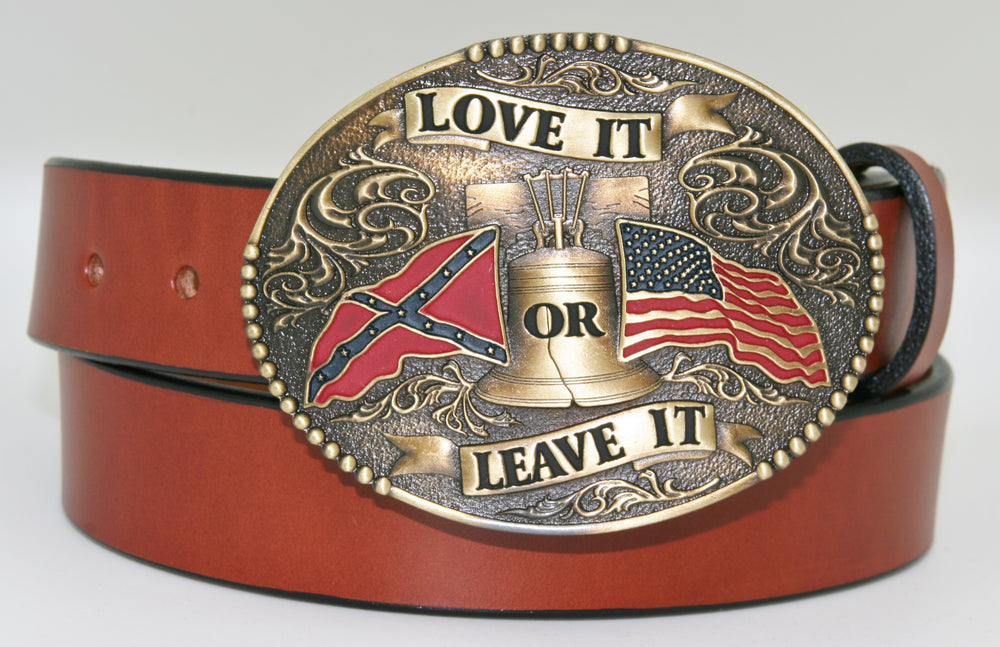 Love It Or Leave It Buckle