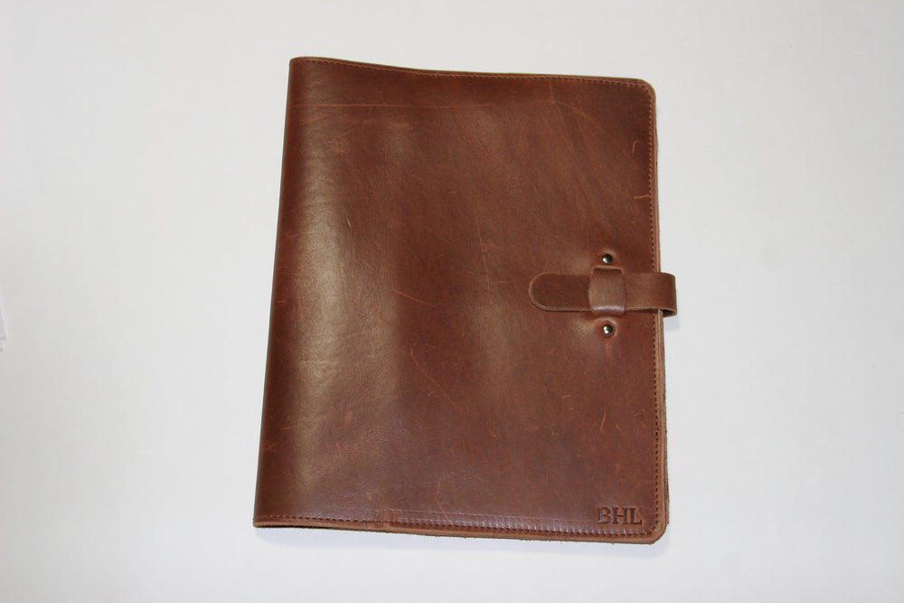 Leather Planner Large