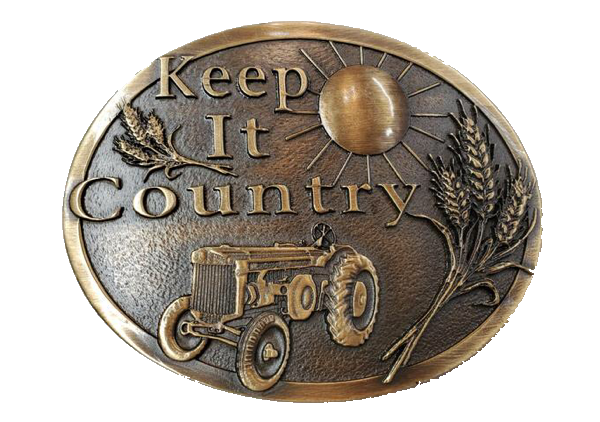 Keep It Country Buckle by AndWest