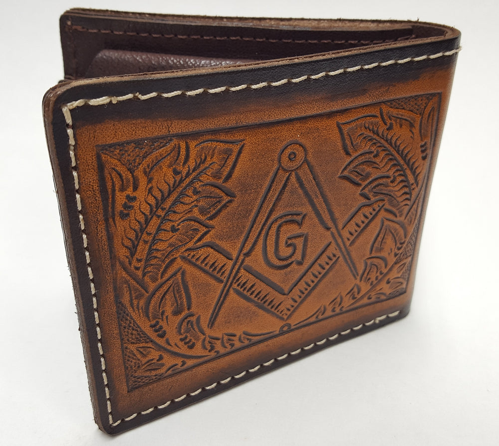 Masonic design wallet