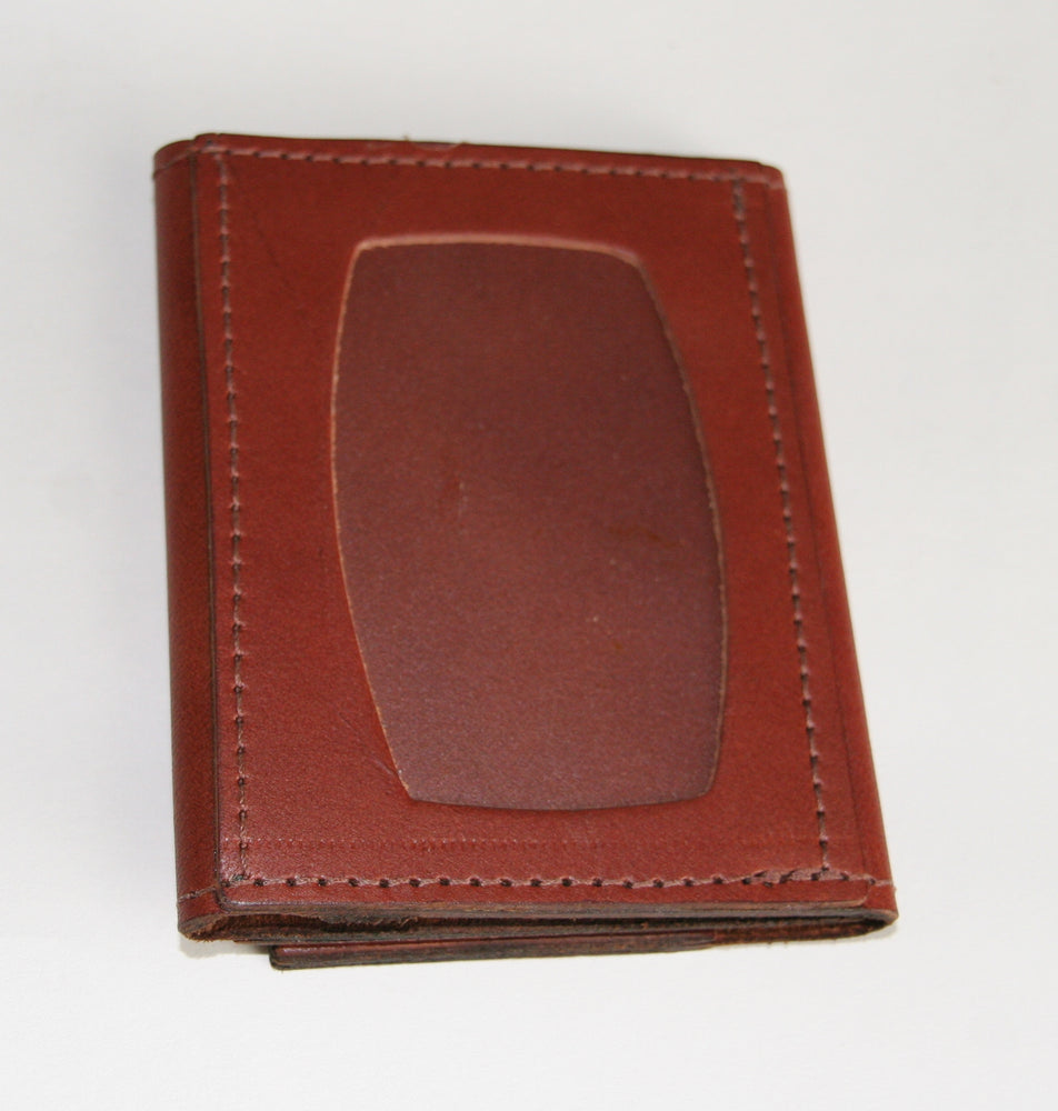 Minimal trifold wallet ID pocket