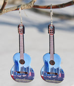 Nashville Acoustic Guitar Earrings