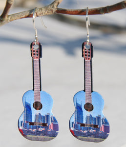 Nashville Guitar Earrings