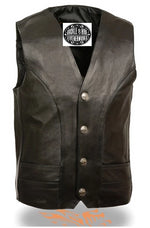 Solid Side Buffalo Nickel Vest