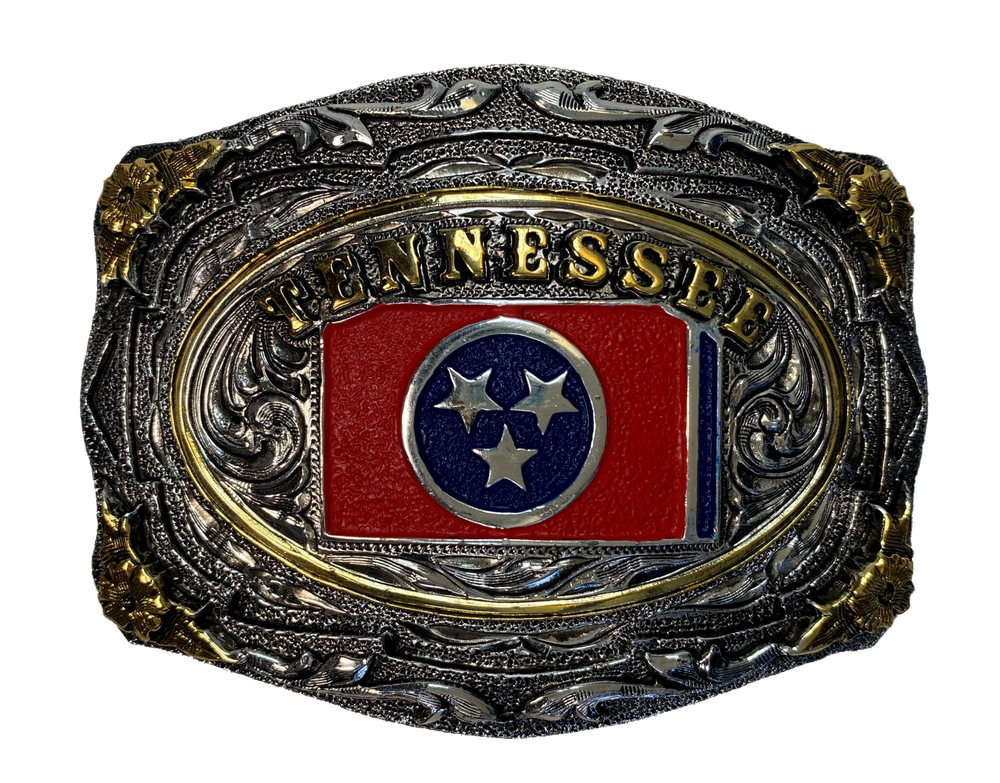 Tennessee Flag Buckle