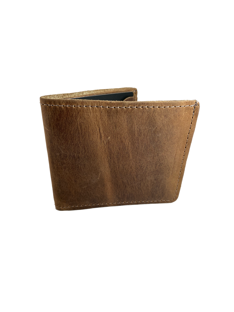 USA Made All leather Bifold